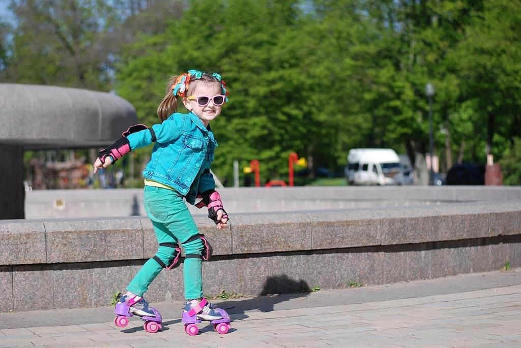 Quando i bambini possono iniziare a pattinare